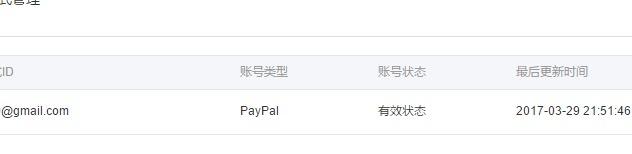 paypal绑定国际版阿里云